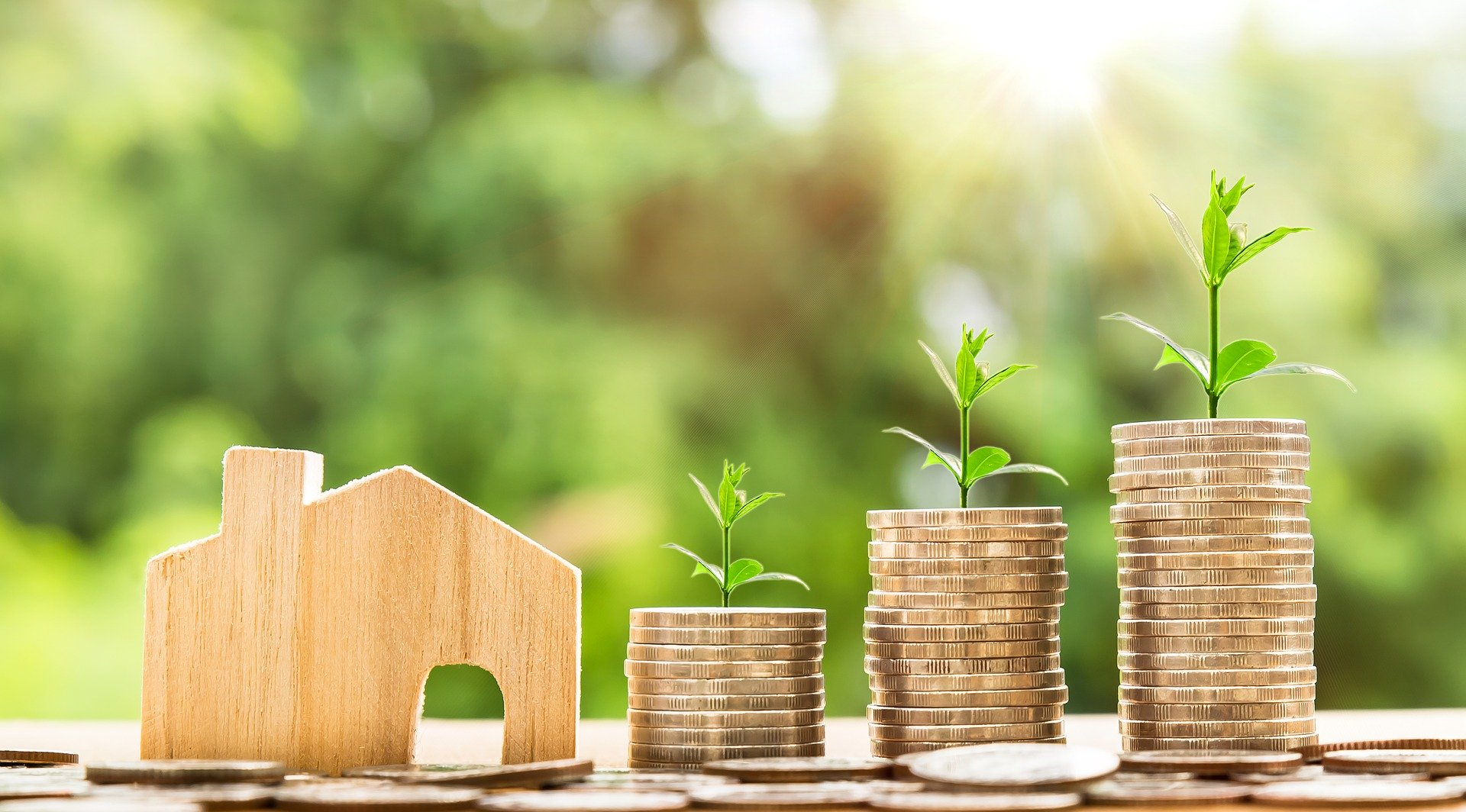 Interpretation of positive cash flow from property investment.
