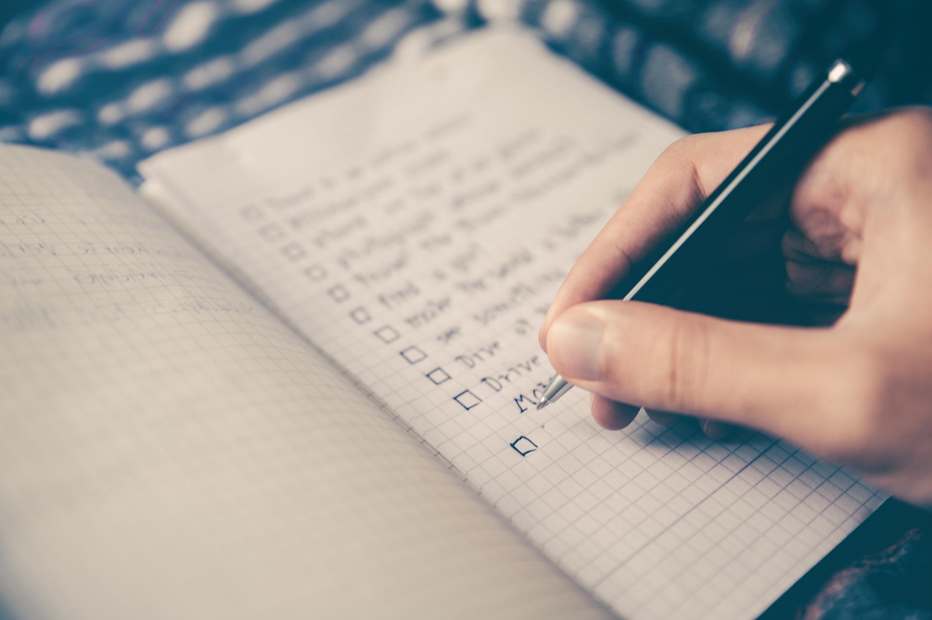 A property investor's checklist
