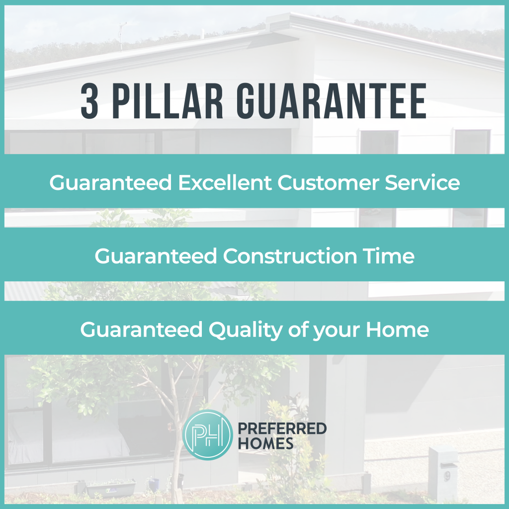 Preferred Homes' 3 Pillar Guarantee
